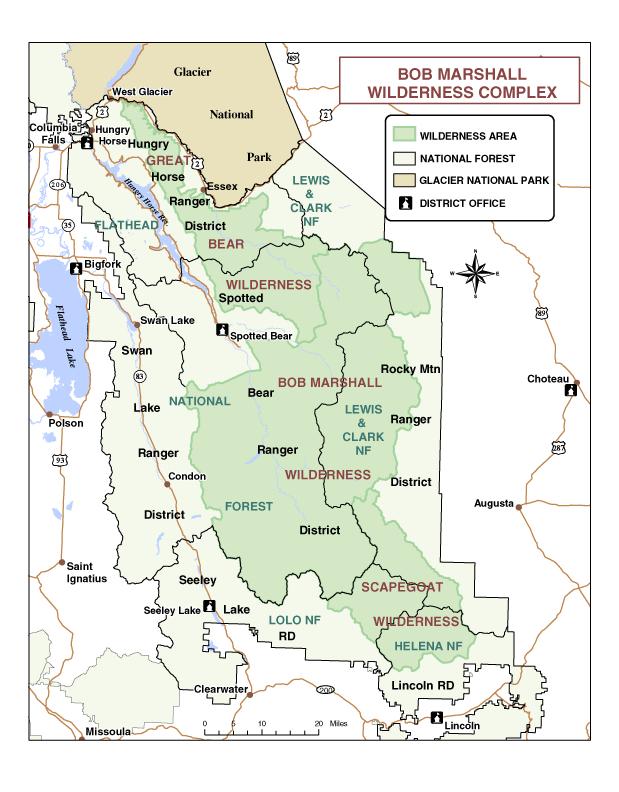 Bob-Marshall-wilderness-complex-map