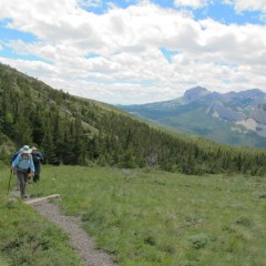 Northern Rocky Mountain Front Traverse ~ June 21 – 25, 2014